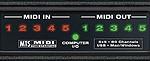 MOTU Microlite 5-in/5-out MIDI interface